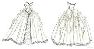 wedding dress design wedding dress design 1 by noflutter on deviantart