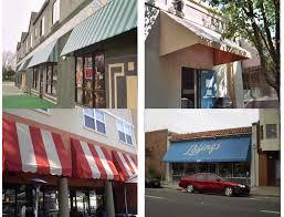 Pyramid Awnings Storefront Standard Awning Js Canvas Awnings Of Sacramento