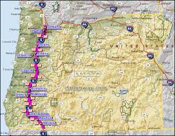 map of oregon freeways i 5 interstate 5 oregon
