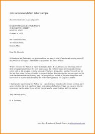 best recommendation letter