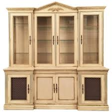 davis cabinet company dining room table davis cabinet lighted display cabinet china hutch vintage mid