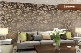 Wallpaper Ideas For Sitting Room - best wallpaper installation in bangalore 1000 wallpaper designs