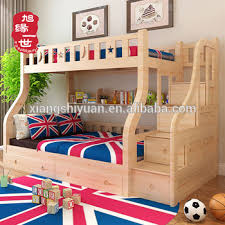 3 Tier Bunk Bed Cheap Wooden 3 Tier Levels Dubai Bunk Bed With Book Shelf Buy
