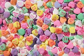 valentines heart candy candy sayings list