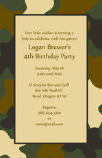 personalized military gifts camouflage gifts the stationery studio
