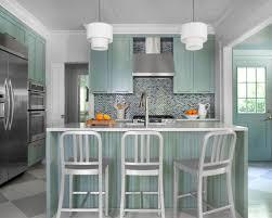 Houzz Kitchen Tile Backsplash by Sea Foam Green Tile Backsplash Houzz