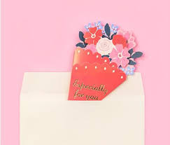 wedding gift greetings gc927 10pcs lot 16x10 5cm flower diy greeting card word cards