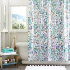 Target Paisley Shower Curtain - charming tween shower curtain 87 for your extra long curtain rods