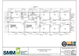 plan adm w 24x70 small admin office sample floor plans sustainable