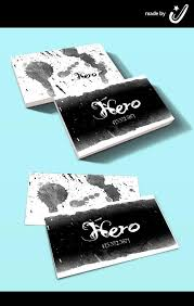 hero tattoo business cards by joejiko on deviantart