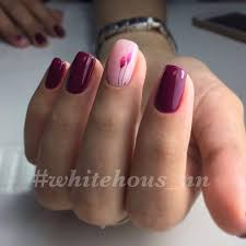 gel nail polish red nails gallery