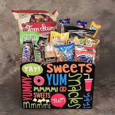 food basket gifts junk food junkie basket kremp