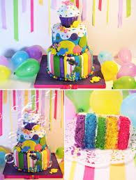 rainbow candy cake cakecentral com