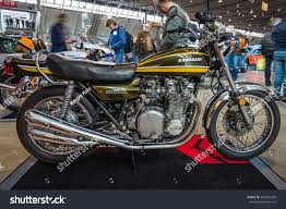 vintage maserati motorcycle stuttgart germany march 03 2017 motorcycle stock photo 634345205