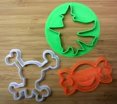 details about halloween cookie cutters 8 treat witch skull