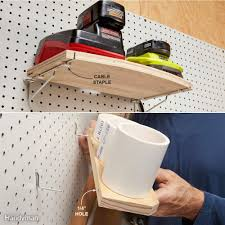 Pegboard Organize Anything With Pegboard 11 Ideas And Tips Family Handyman