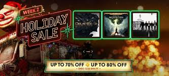store holiday sale week 2 discounts ps4 ps3 and vita games
