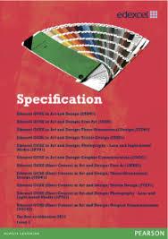 Art And Design Gcse Edexcel Gcse Art And Design 2009 Pearson Qualifications