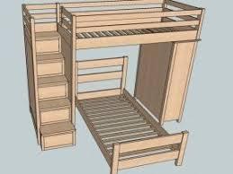 loft beds with steps foter