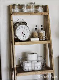 ladder shelves target 5 tier leaning ladder bookshelf corner