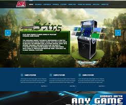 bold professional web design for the lan network by bass designs