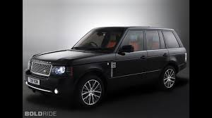land rover convertible black land rover range rover autobiography black