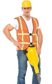 construction worker costume construction worker costumes for men women kids costume