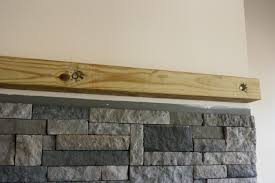 Wood Mantel Shelf Diy by How To Build A Floating Fireplace Mantle U2022 Binkies And Briefcases
