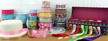 patterned ribbon and patterned cake ribbons