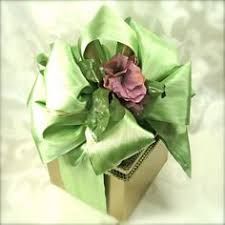 pre wrapped gift box gold and lace shabby chic wedding gift box favors jewelry gift cards