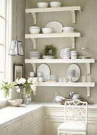 styling open kitchen shelves natural wine gla stainless steel