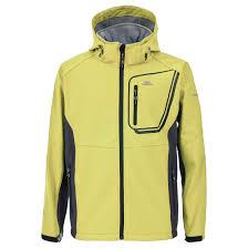 trespass strathy mens waterproof breathable coat windproof