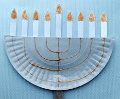 paper plate menorah youtube