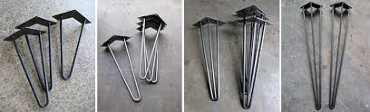 Hairpin Coffee Table Legs 12 Places To Buy Metal Hairpin Table Legs Raw Steel Stainless