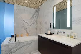 cozy marble bathroom on bathroom with carrara marble shower