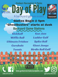 day of play a backyard games event