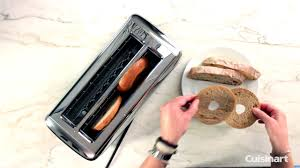 Cuisinart Toaster Cpt 180 The Bakery Artisan Bread 2 Slice Toaster Demo Cpt 2400 Youtube