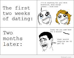 Cute Dating Memes - funny dating evolution explained in a rage comic image 1453055