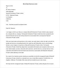 templates for a business letter 50 business letter template free word pdf documents free