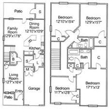 construction home plans ns newport fort neighborhood 3 bedroom 2 level townhome