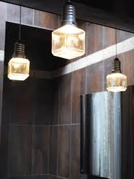 contemporary stone guest bathroom andrea wachs hgtv