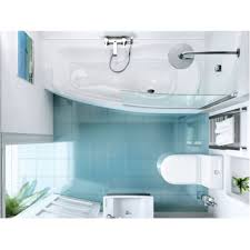 cleargreen ecocurve 1700mm x 750mm shower bath baker and soars