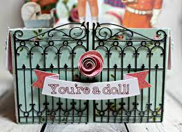 busy with the cricky paper doll box card you re a doll