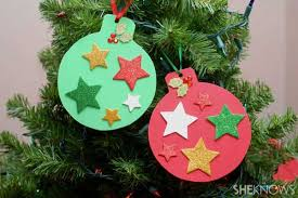 christmas decorations to make at home for kids easy homemade christmas decorations for kids randyklein home design
