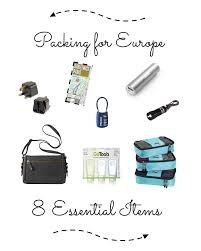 Mandy living life packing for europe 8 essential items mandy