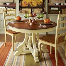 Pier One Imports Kitchen Table by Marchella Round Dining Table U2013 Antique Ivory Pier 1 Imports