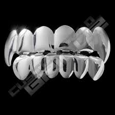 get silver plated vampire fangs grillz on sale u2013 custom gold grillz