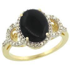 onyx engagement rings black onyx