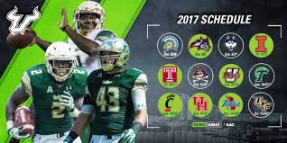 2017 usf football schedule announced usf athletics