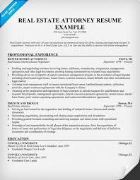 Attorney Resume Template Real Estate Resumes Real Estate Attorney Resume Example Career